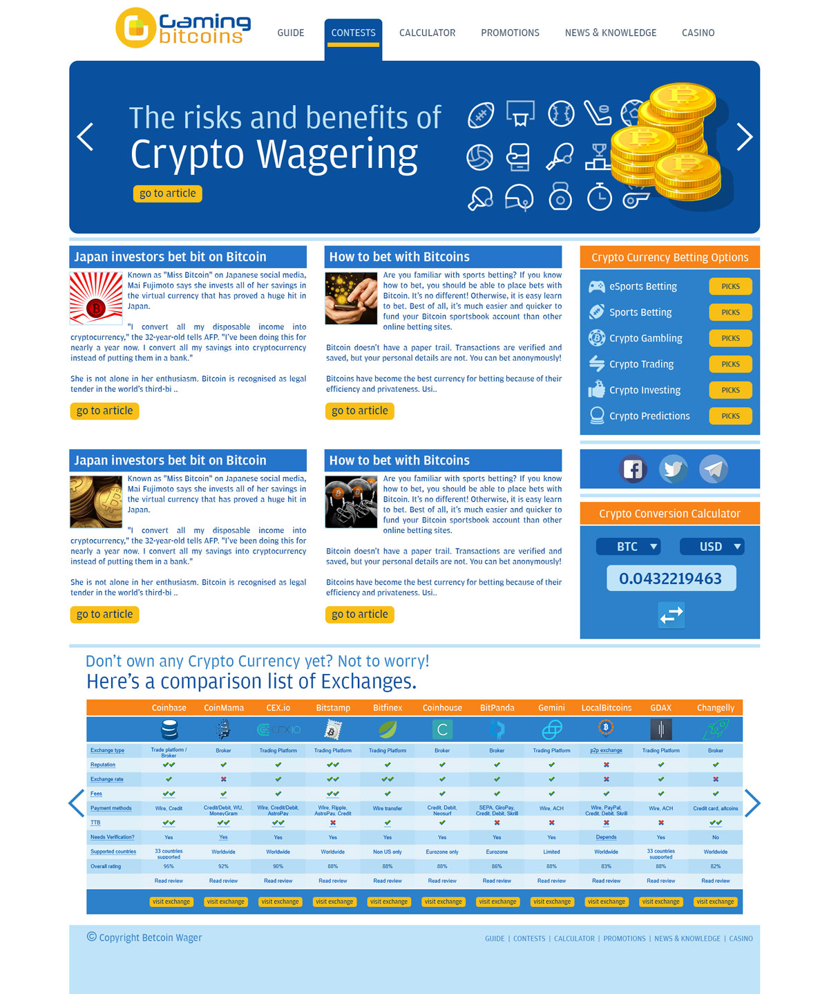 gaming-bitcoins-website
